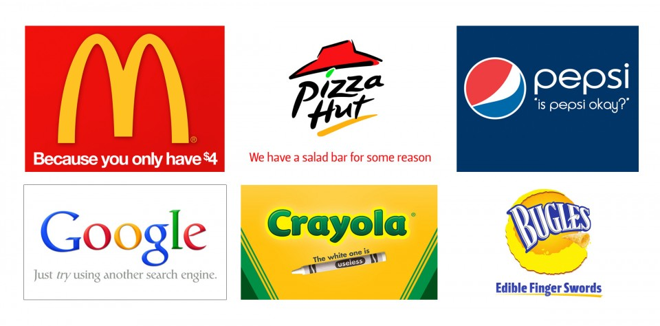 If brands were honest...